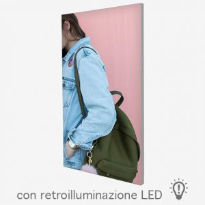 Textile Frame Lux con retroilluminazione LED