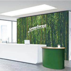 Parete Textile Frame per uffici e reception
