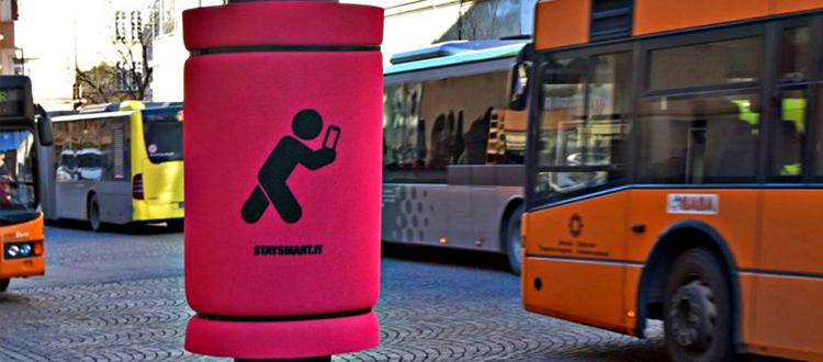 Stay Smart: guerrilla marketing a Bolzano