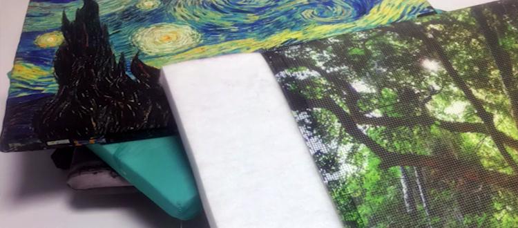 Stampa su tessuto per rivestimenti
