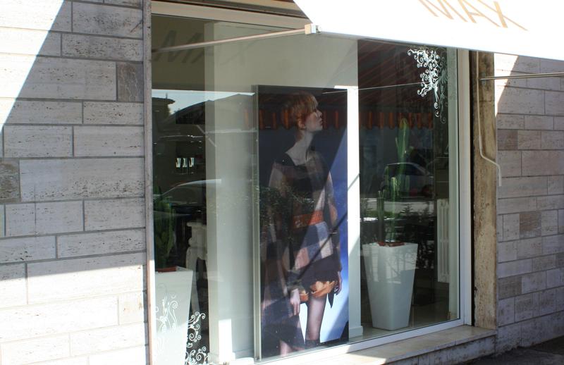 Textile Frame Lux in vetrina