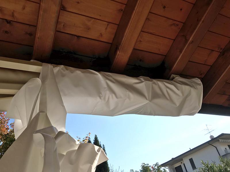 Dettaglio copri tenda