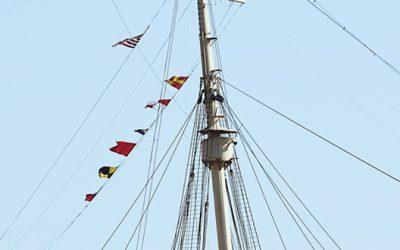 Filari bandiere nautiche