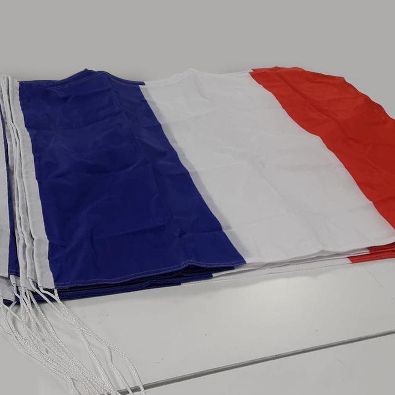 Bandiera francese con corde