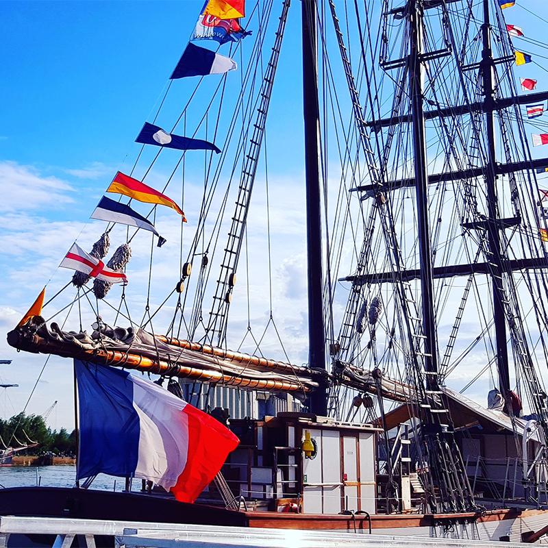 Gran pavese per imbarcazioni