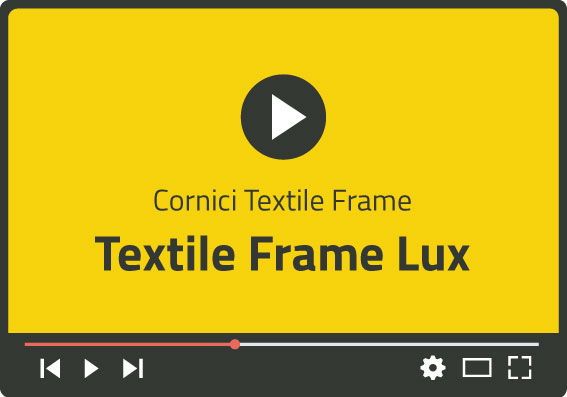 Video Textile Frame Lux