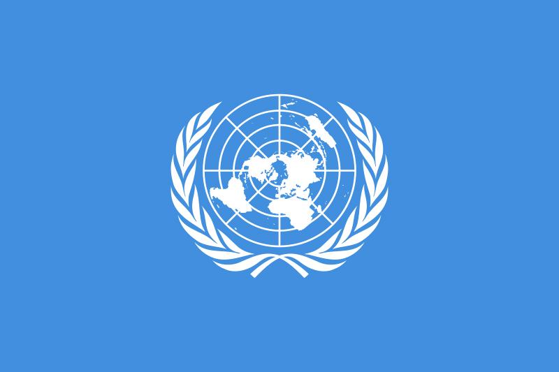 Grafica Bandiera dell'ONU