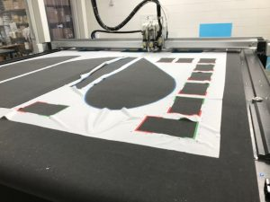 Taglio automatico tessuto