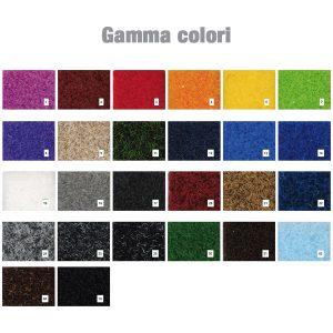 Gamma colori per zerbino intarsiato
