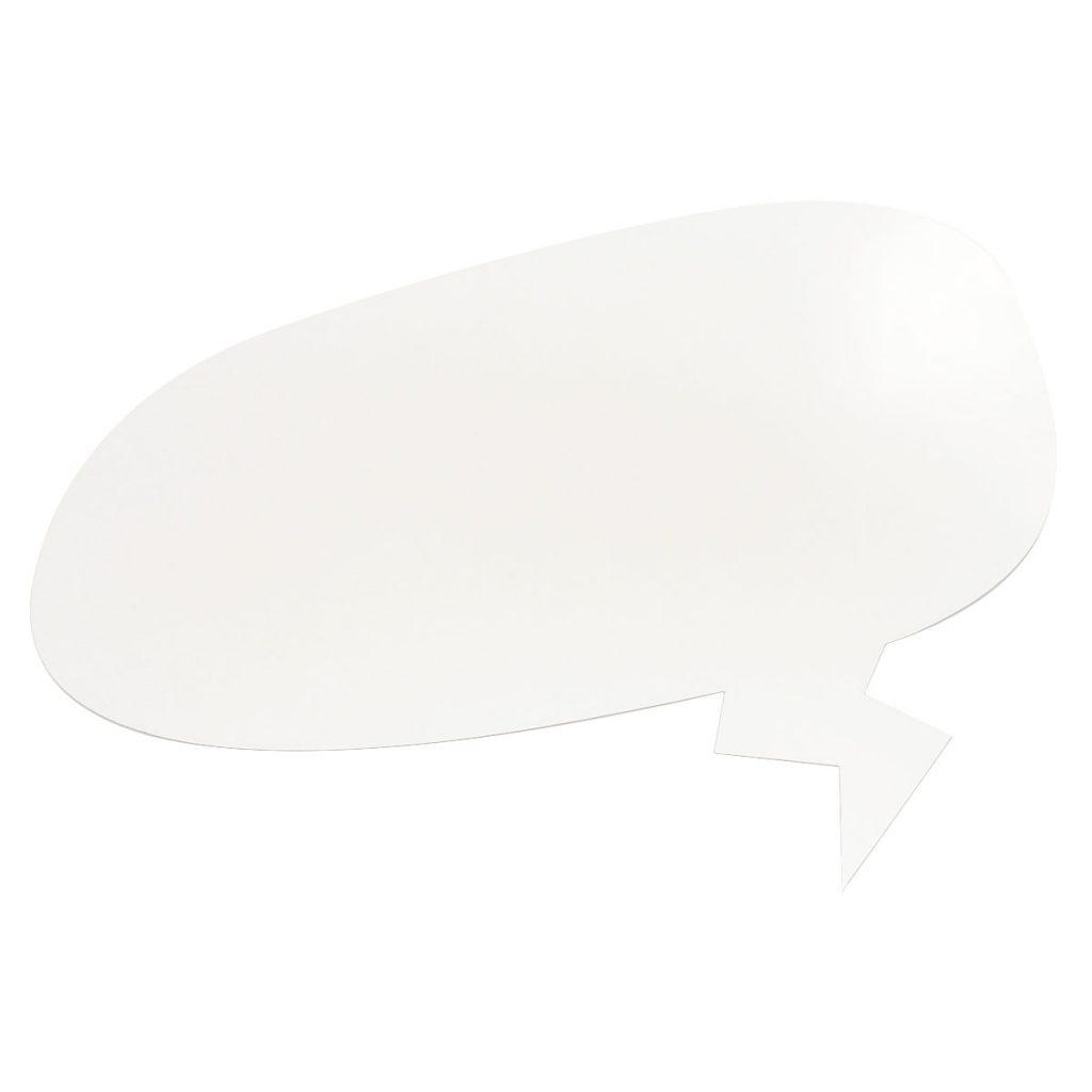 lavagna bianca riscrivibile magnetica sagomata