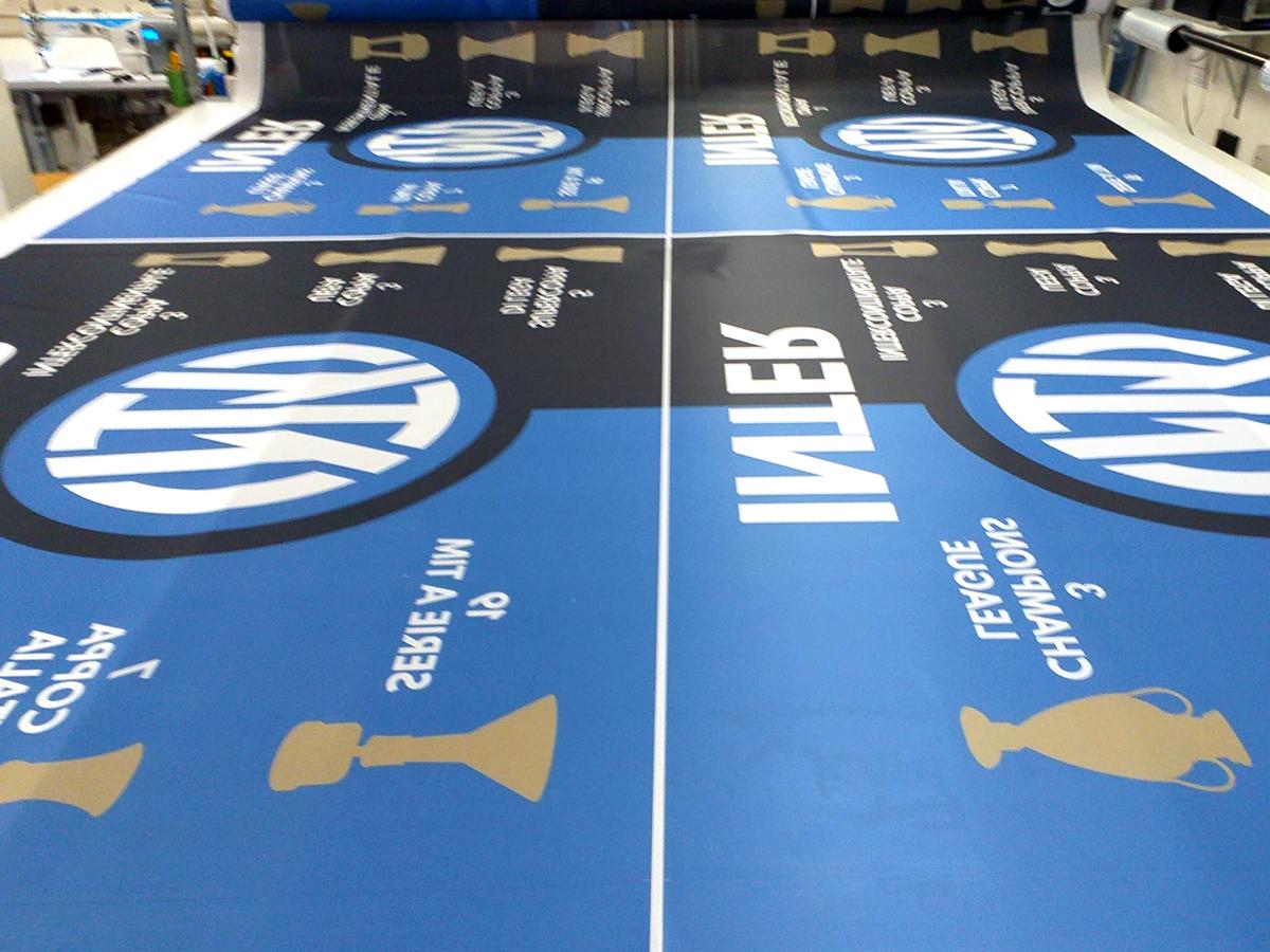 confezione bandiere inter FC