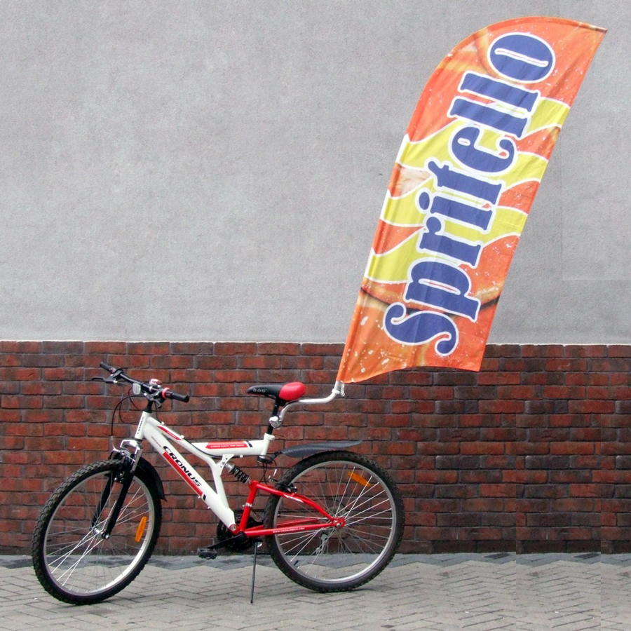 porta bandiera da bicicletta